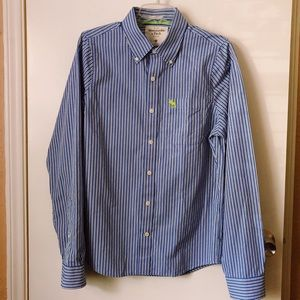 Abercrombie & Fitch Striped Button Down Shirt